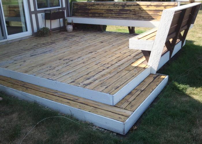 Deck Stain Peeling