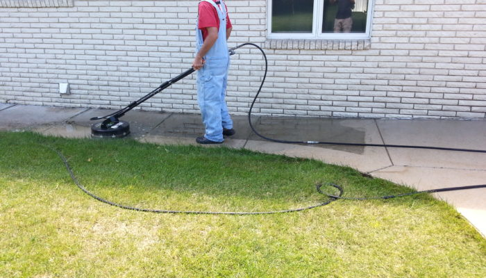 Concrete cleaning illinois valley house cleaning services for Concrete cleaning service